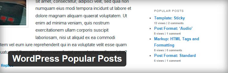 Ako zobraziť najčítanejšie články v bočnom paneli blogu na WordPress.