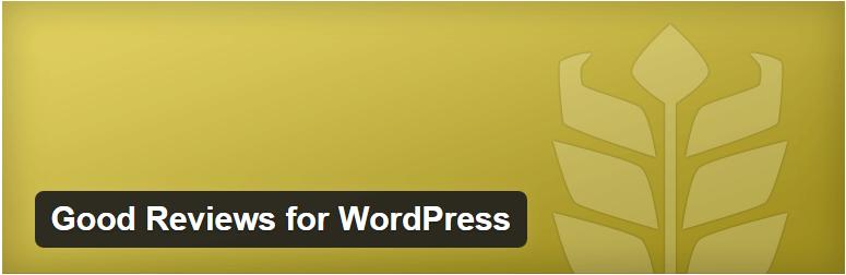 Ako zobraziť referencie na WordPress stránke? Použitím pluginu Good Reviews.
