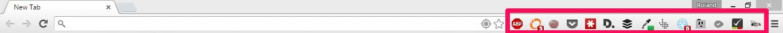 Príliš veľa rozšírení v Chrome vedie k chaosu