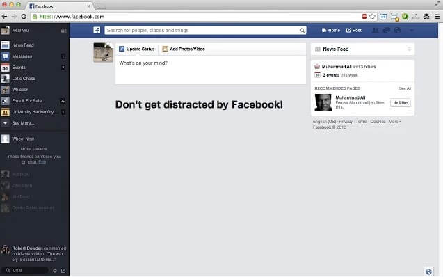 Ako sa zbaviť otravného newsfeedu na Facebooku