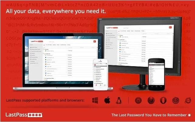 LastPass rozšírenie pre Chrome, vďaka ktorému už nemusíte zabúdať heslá.