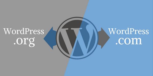 Rozdiely medzi WordPress.com a WordPress.org