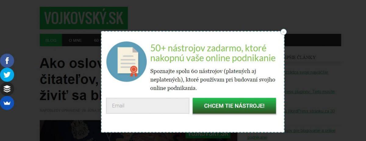 Jednochý spôsob, ako vybudovať databázu email kontaktov
