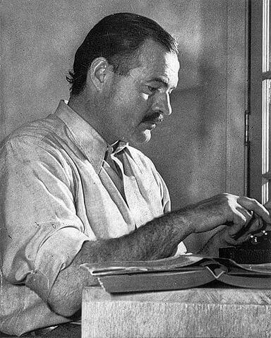 Ernest Hemingway a jeho 2 citáty