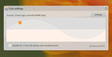 Flux je softvér, ktorý šetrí vaše oči