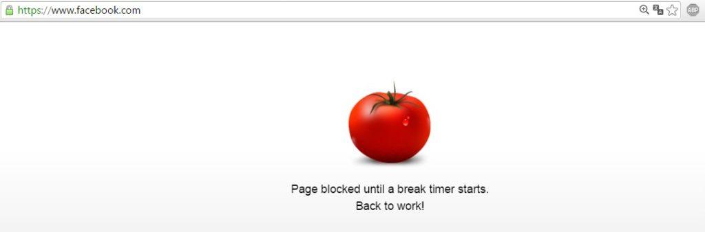 Rozšírenie do Chrome, ktoré vám počas práce zablokuje stránky, ktoré váš rozptyľujú. Pomodoro technika.