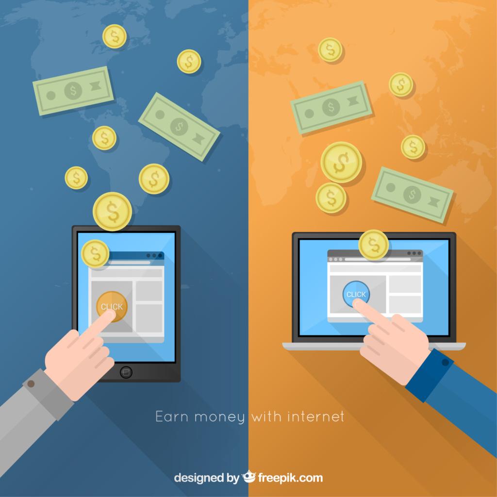 Vďaka blogovaniu môžete zarobiť vaše prvé peniaze na internete.