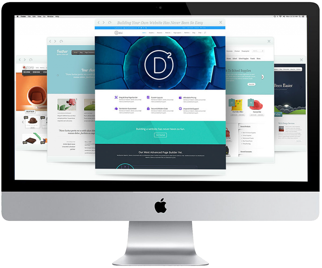 WordPress téma Divi