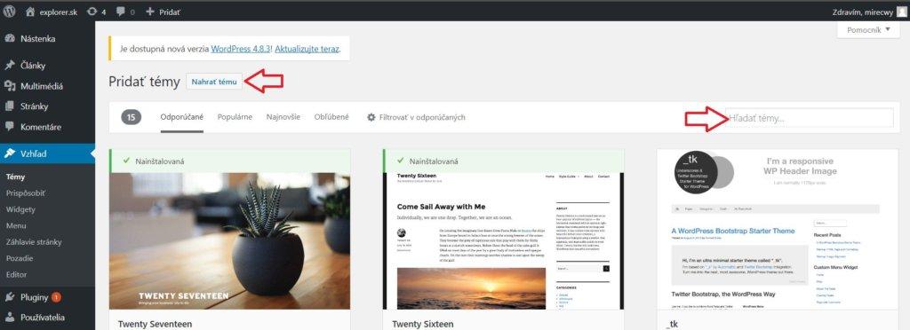 Ako si vybrať WordPress šablónu