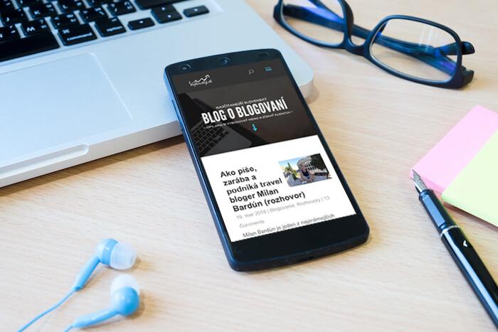 Vy ešte nemáte blog? 10 dôvodov, prečo mať vlastný web a písať články